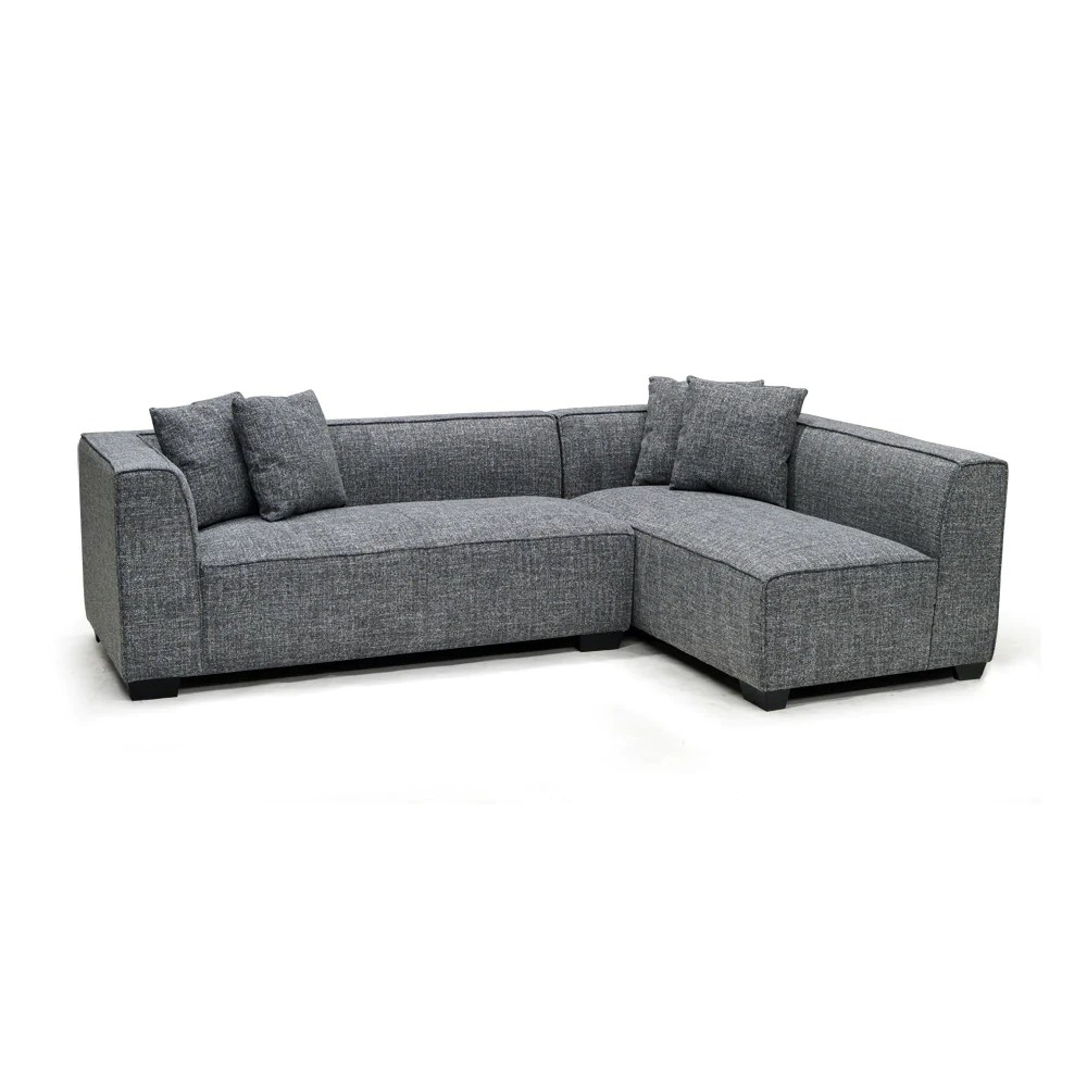 Microfiber Sectional Sofa Edmonton Furniture Store Contemporary Grey Microfiber Sectional