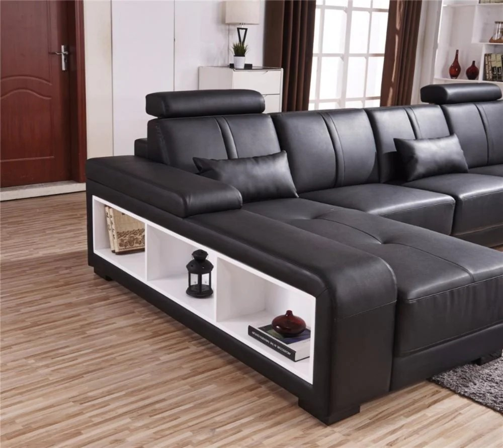 U Couch Luxury Sectional Sofa Design U Shape 7 Seater Lounge Couch Corner