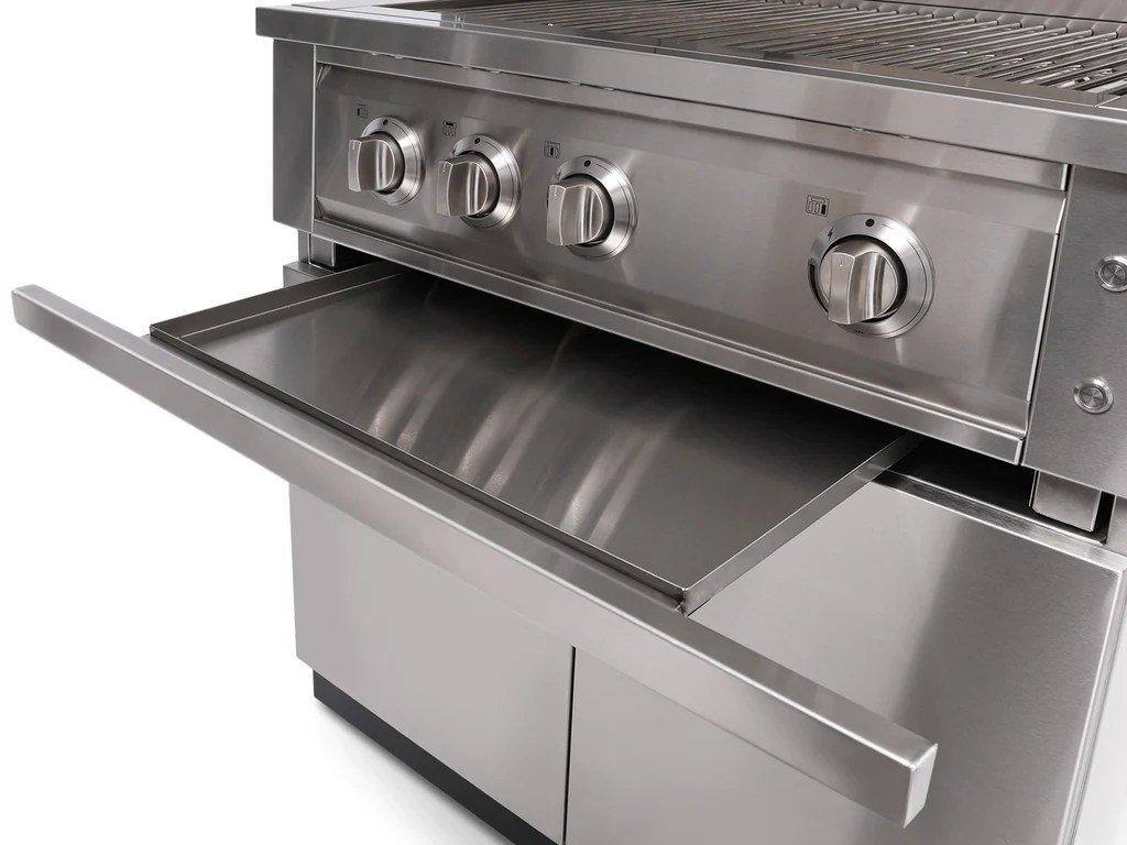 "Outdoor 33 Outdoor Kitchen Stainless Steel 33"" Insert Grill - Newage ..."