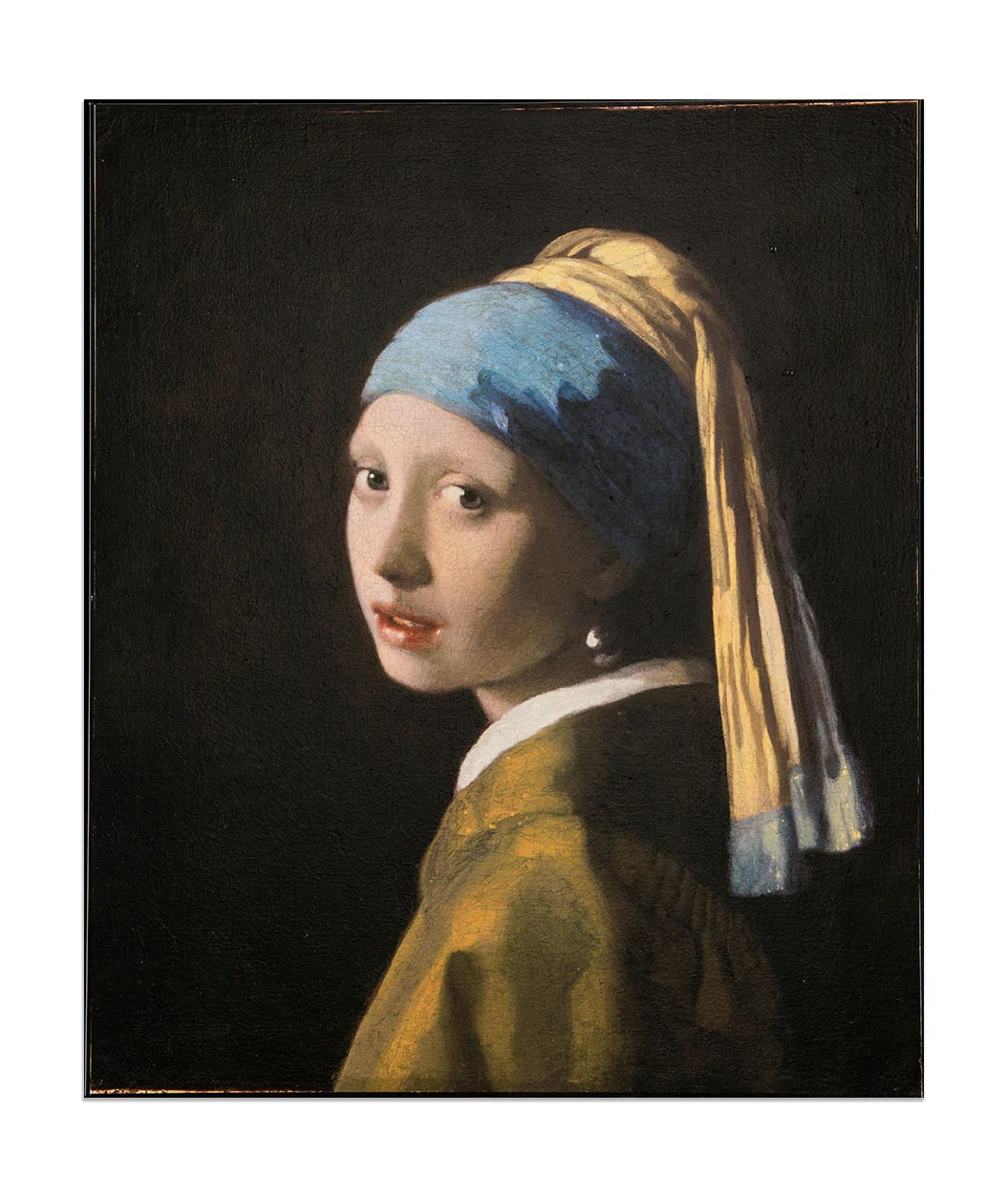 La Joven De La Perla Pintura Purchase A 3d Re Creation Of Girl With A Pearl Earring By