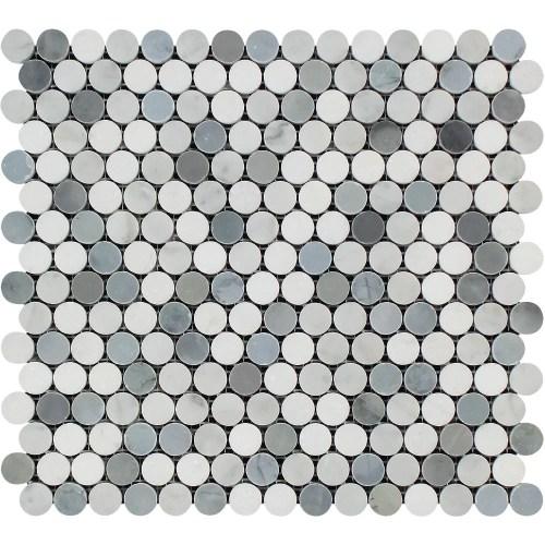 Medium Of Penny Round Tile