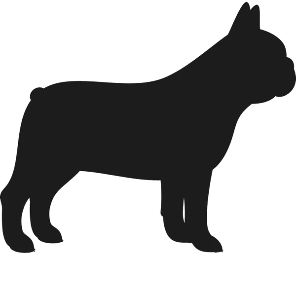 Amerikaanse Bulldog French Bulldog Stamp (silhouette) | Dog, Cat & Fur Baby