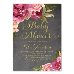 Small Crop Of Baby Girl Shower Invitations