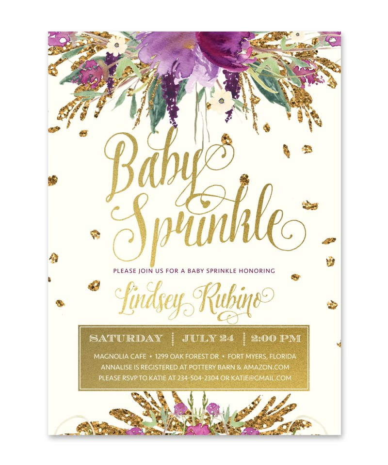 Large Of Baby Sprinkle Invitations