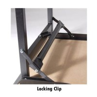 "2ft 6"" x 6ft Deluxe Folding plain top table"