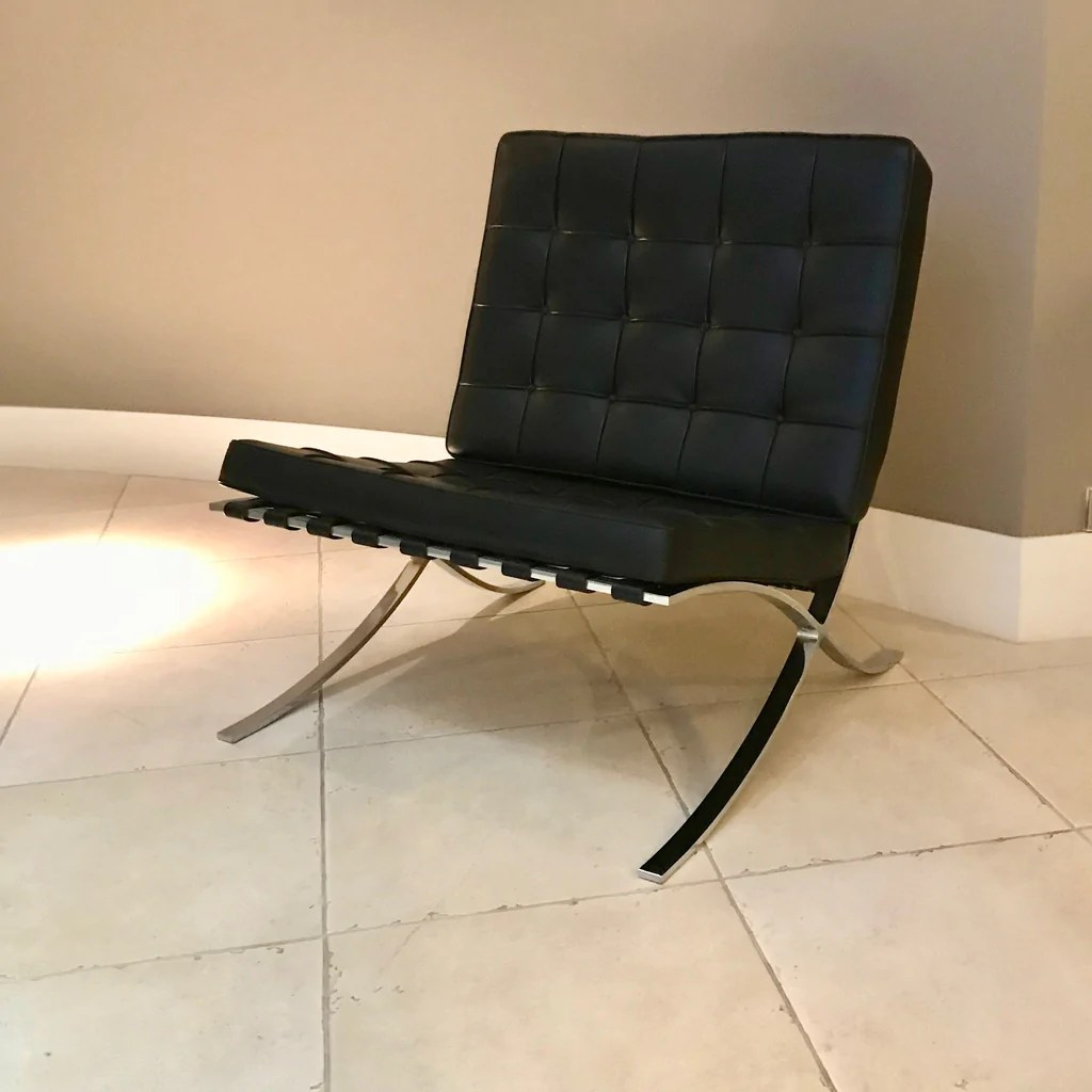 Barcelona Sessel Knoll Barcelona Chair By Ludwig Mies Van Der Rohe For Knoll