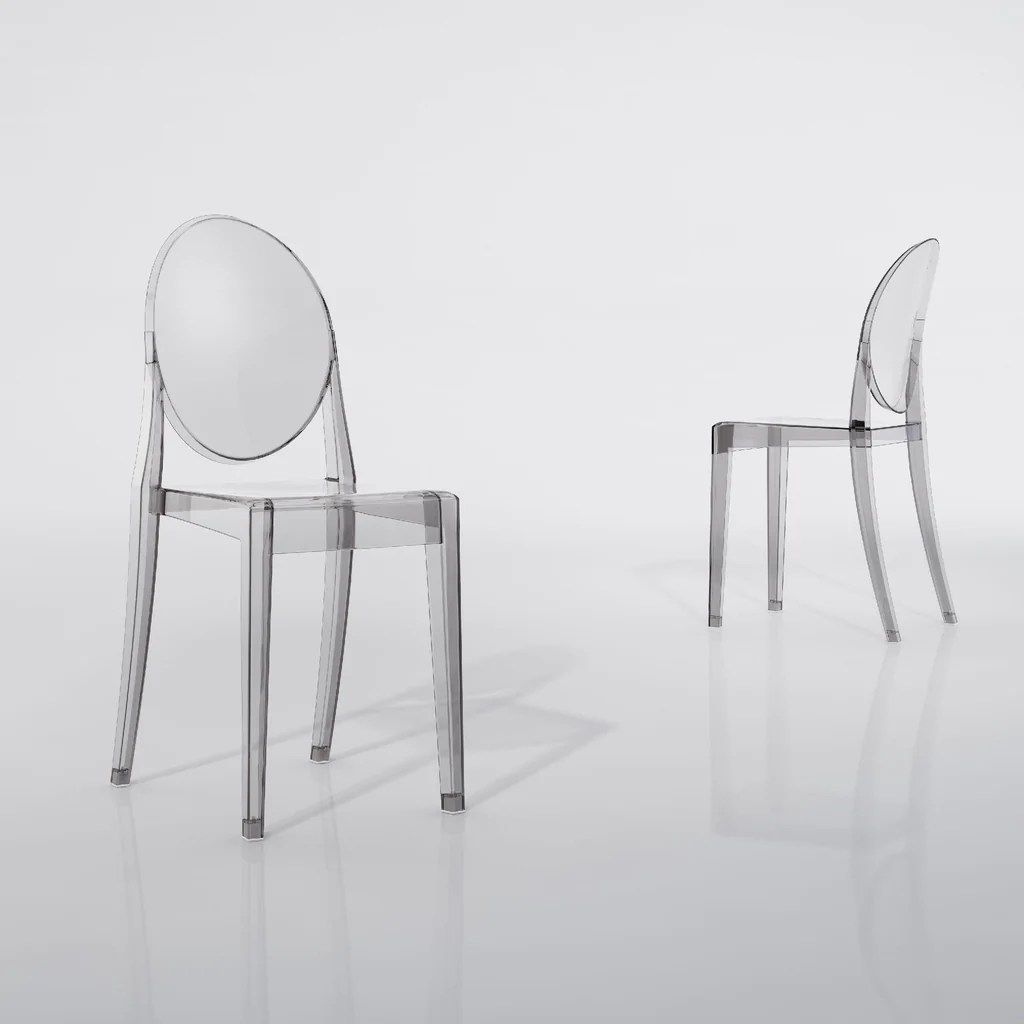 Philippe Starck Ghost Chair Victoria Ghost Kartell