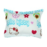 Hello Kitty Bedding Peace Sheet Set Sanrio Pillow Sham ...
