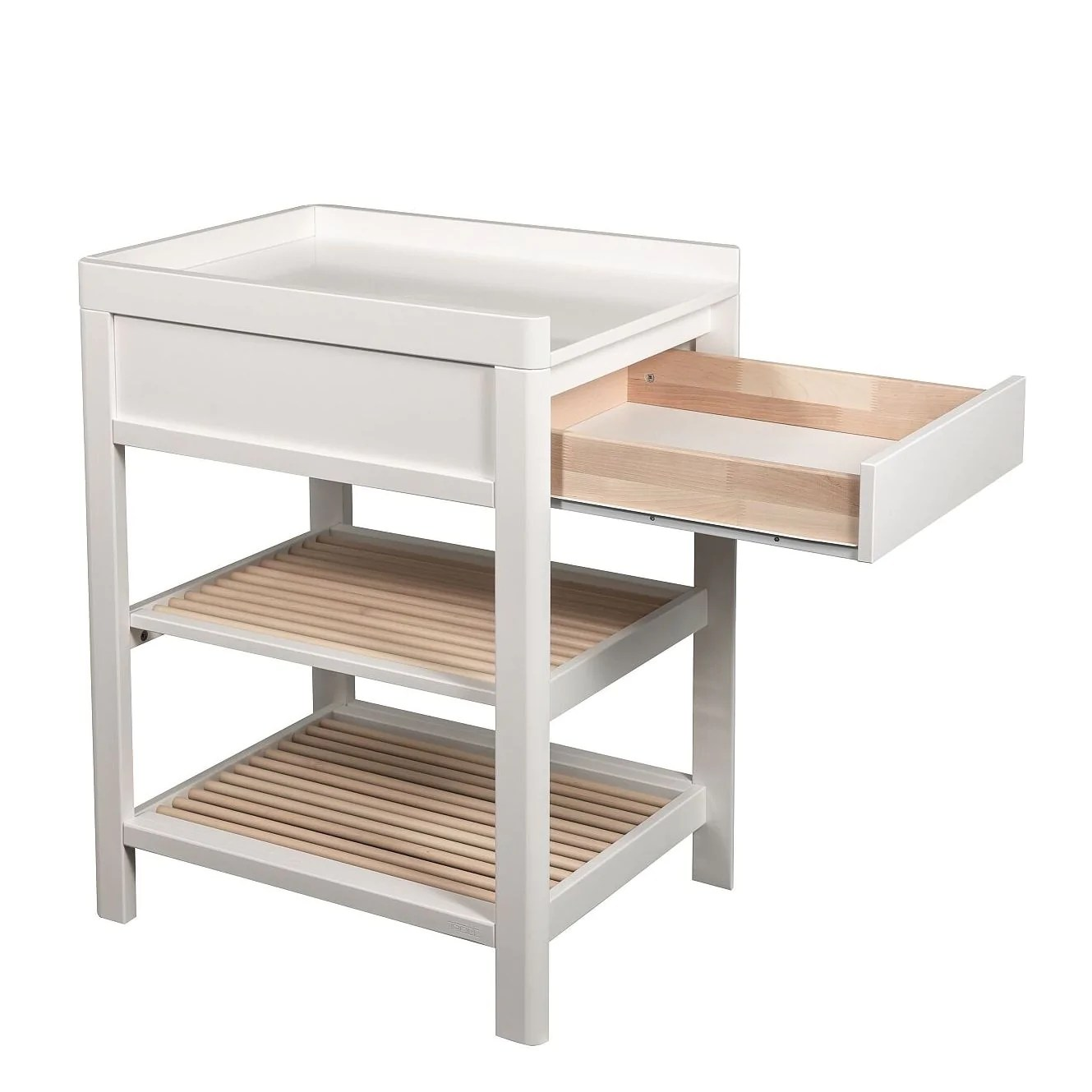Troll Lukas Cot And Change Table Package White And Whitewash The Baby Closet