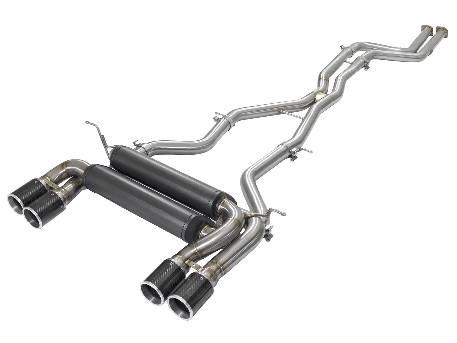 M4 Performance Exhaust M3 M4 Downpipe Back S55 Mach Force Xp Exhaust System