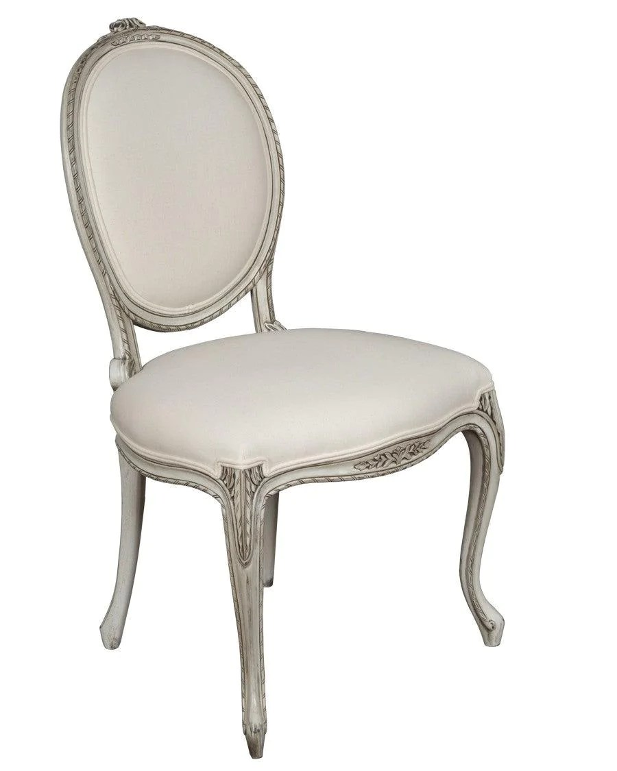 Chaise Style French Louis Xv Style Chaise Upholstered Chair Fsfi 36