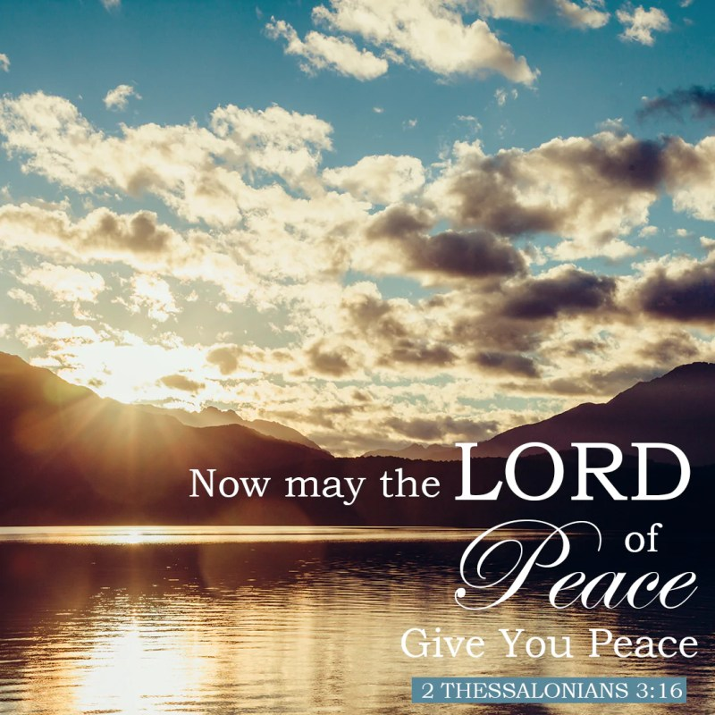Large Of Bible Verse About Peace