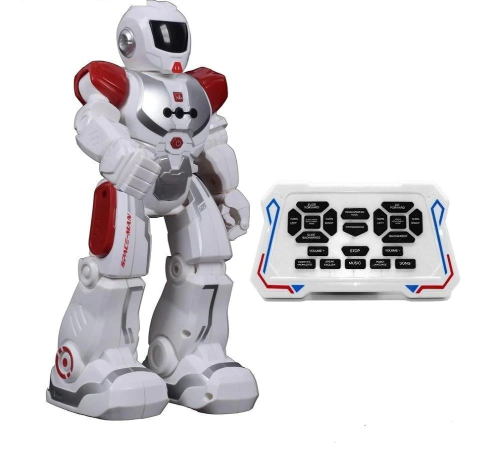Children Robot Kids Electric Action Dance Robot Toy Electronic Soldier Smart Space Walking Astronaut Robot Remote Control Toy For Children Gift