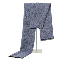 Luxury Winter Warm Long Scarves for Men's Printed Business ...