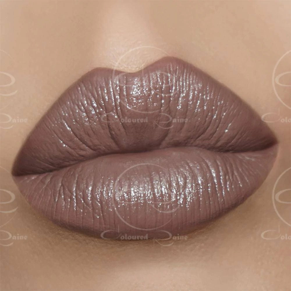 Soul Brown Lipstick Coloured Raine Cosmetics - Satin Finish Lipstick