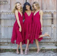 Short Bridesmaid Dresses  SposaDresses
