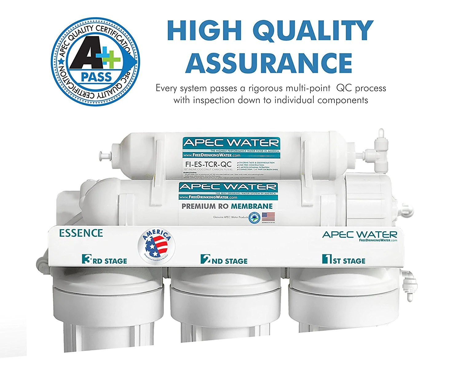 Reverse Osmosis Drinking Water System Ispring Rcc7ak 6 Stage Under Sink Reverse Osmosis Drinking Water Filtration System With Alkaline Remineralization Filter 75 Gpd