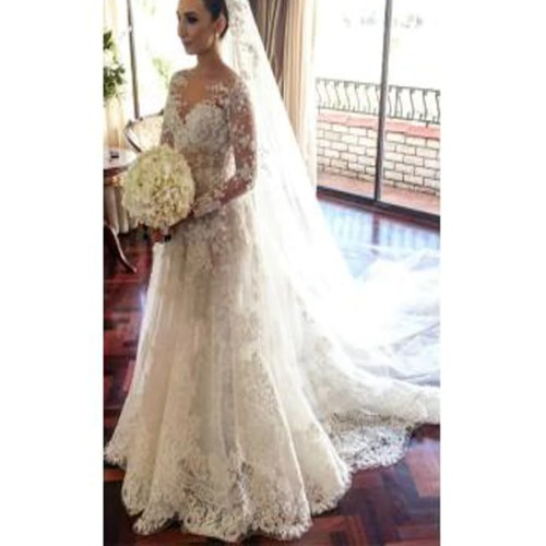 Assorted Flowers Custom Classic Wedding Dresses Flowers Custom Made Classic Lace Wedding Dress Long Sleeve Er Brides Classic Wedding Dresses 2017 Classic Lace Wedding Dress Long Sleeve