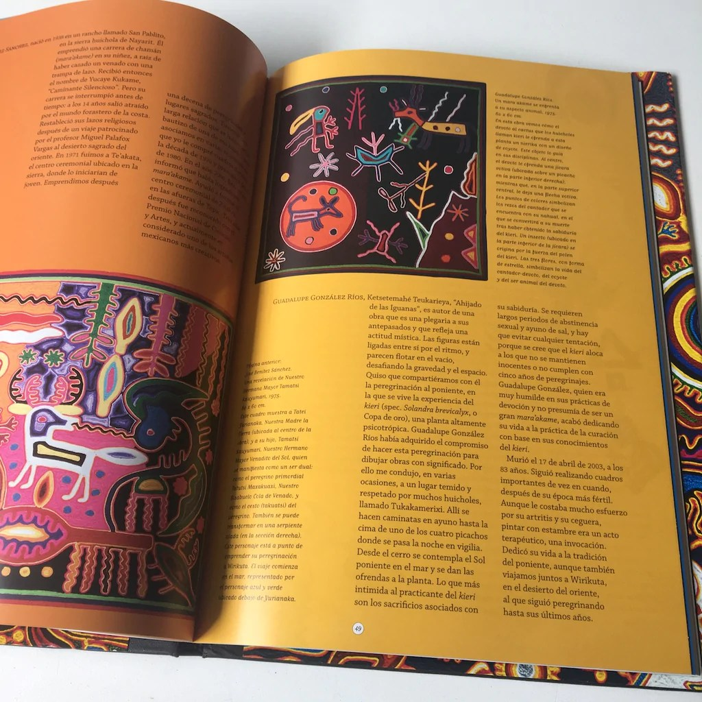 Arte En Mexico Actual Arte Huichol Artes De Mexico Spanish Language Book Of Molas And Mola Artists