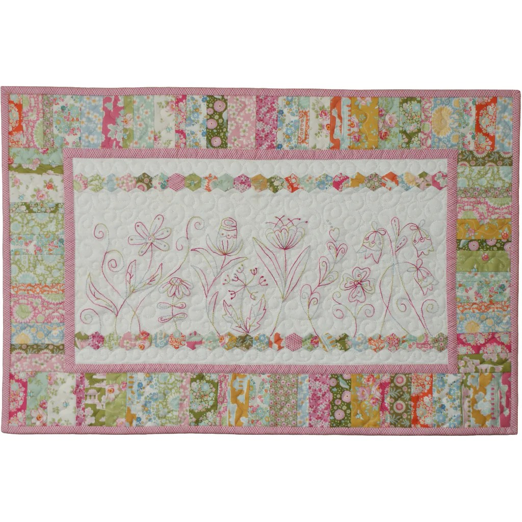 Pinterest Christmas Quilted Wall Hangings Wild Meadow Wall Hanging Digital Pdf Download