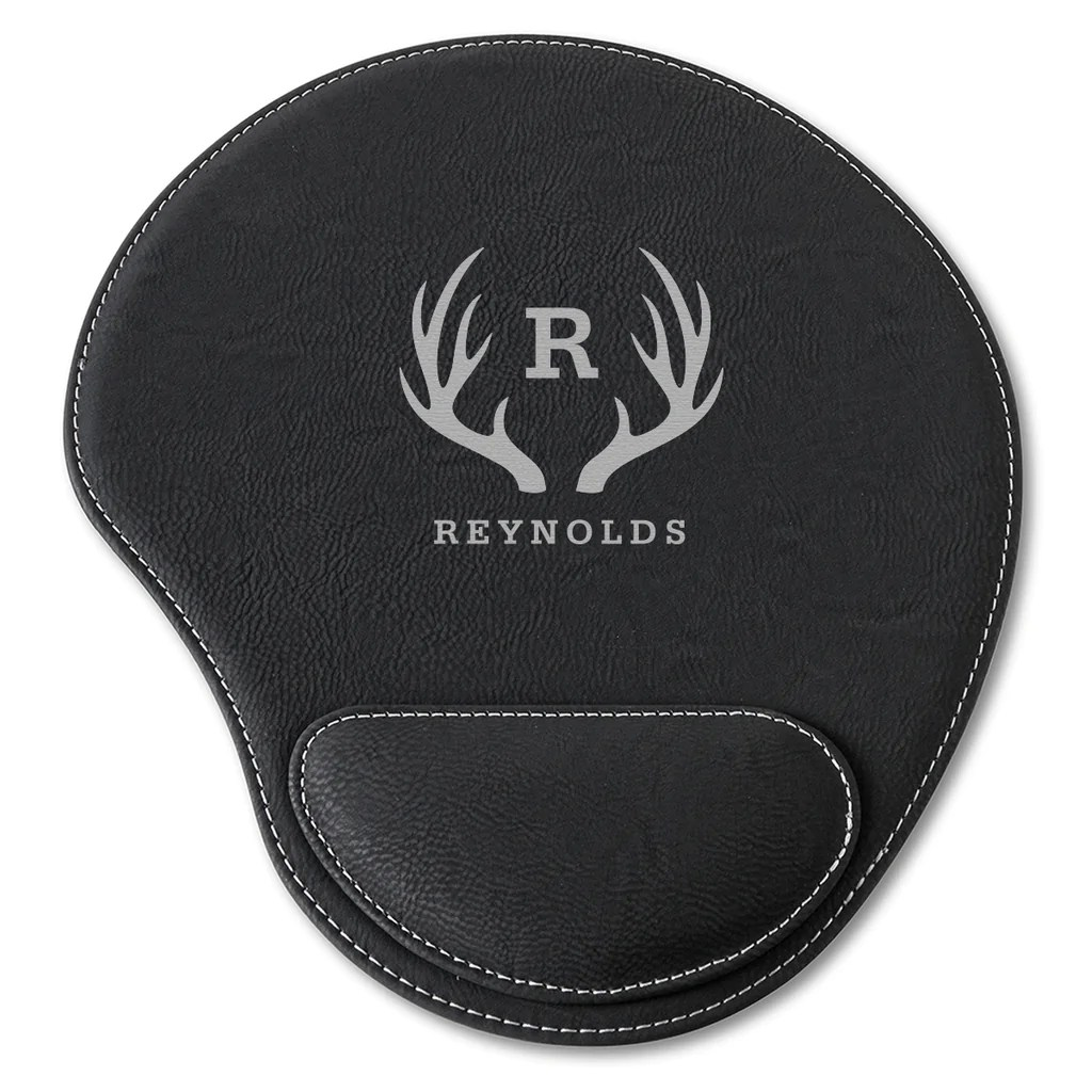 Cool Personalized Faux Lear Mouse Pad Antler Black Personalized Faux Lear Mouse Pads Black Red Bird Gifts Personalized Mouse Pads Target Personalized Mouse Pads Walgreens custom Personalized Mouse Pads
