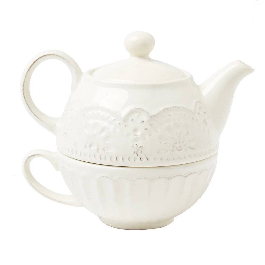Teapot With Cup Teapot For One Cup Stacking Set