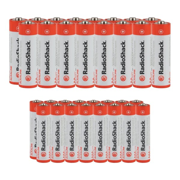 Aaa Baterien Aa Aaa Alkaline Batteries Value Pack 32 Pack