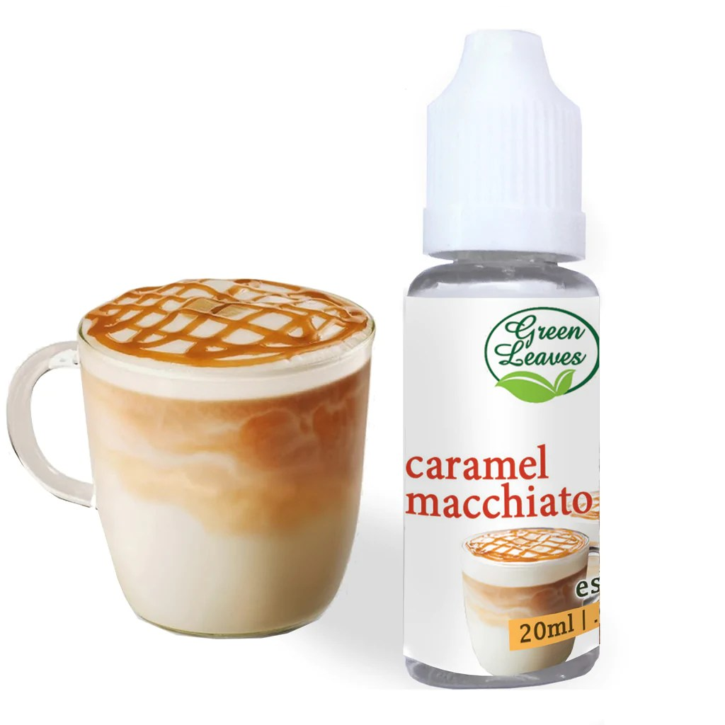Macchiato Caramel Green Leaves Concentrated Caramel Macchiato Multi Purpose Flavor Essence