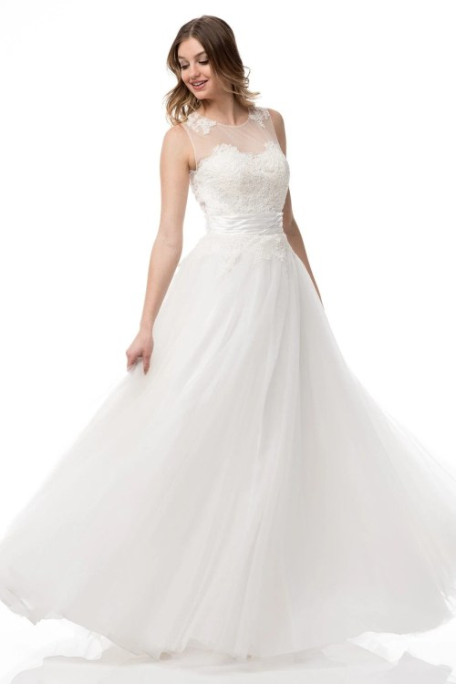 Medium Of Inexpensive Wedding Dresses