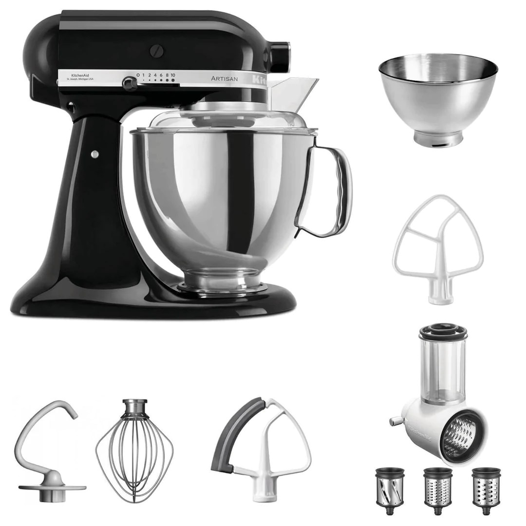 Kitchenaid Artisan Gelb Kitchenaid 5ksm175 4 8l Artisan Starterset Generation Yes