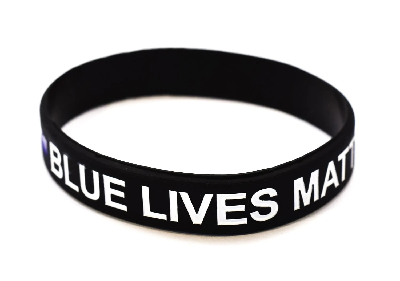 Fullsize Of Thin Blue Line Bracelet
