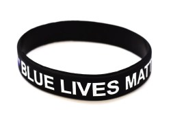 Small Of Thin Blue Line Bracelet