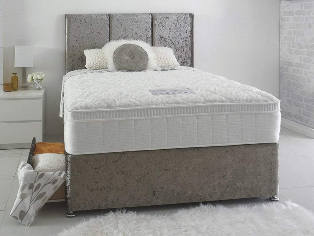 Dura Beds Mattress Dura Beds Celebration Deluxe 1800 Pocket Sprung Cushioned Top Mattress