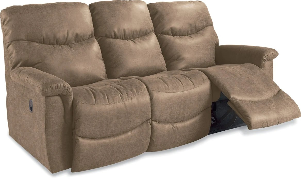 Leather Sofa La Z Boy La Z Boy James Reclining Sofa