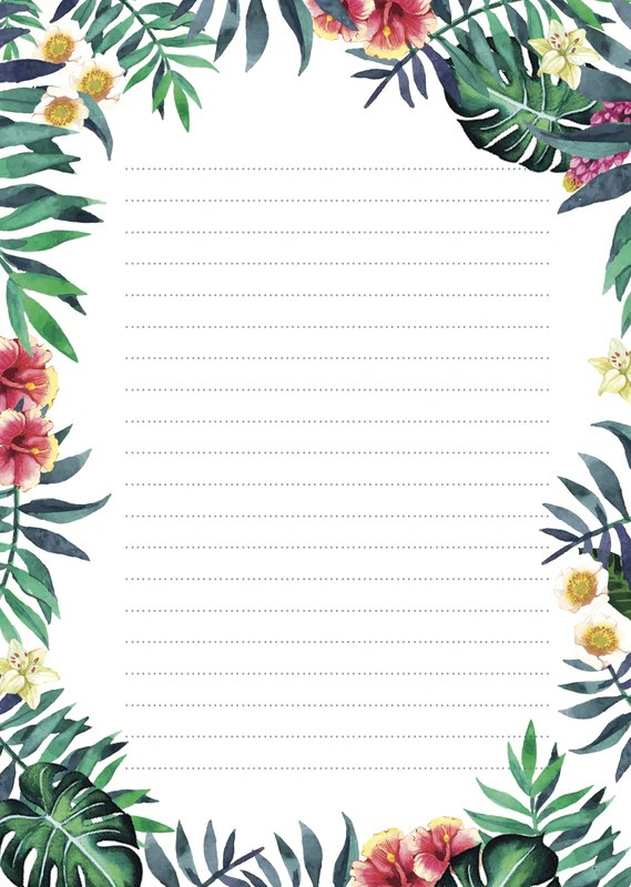 blank writing paper online