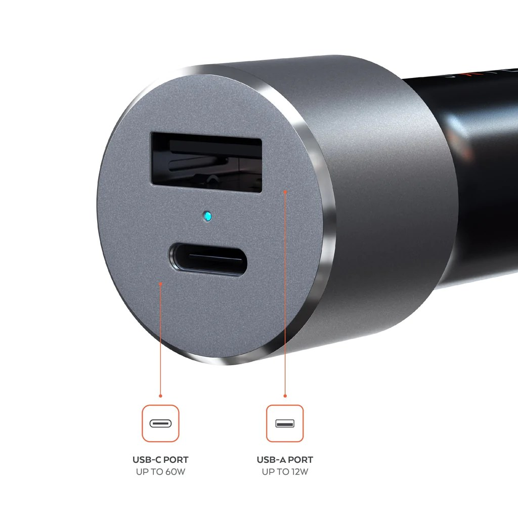 Usb C 72w Usb Type-c Pd Car Charger Adapter - Satechi