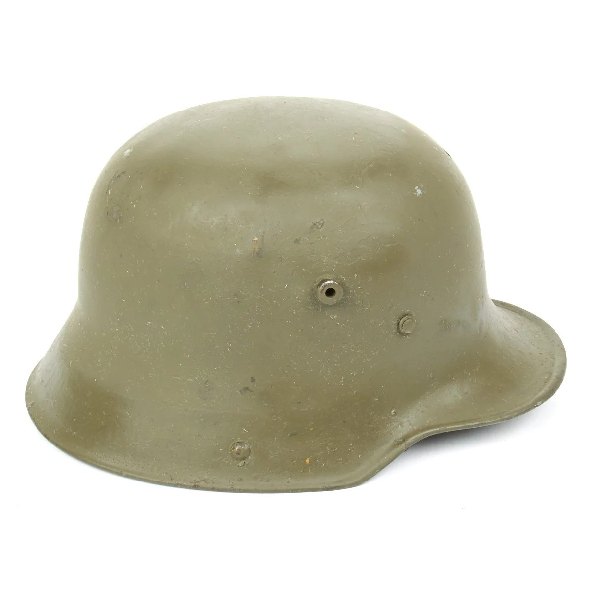 Strahlhelm Original Imperial German Wwi M16 Stahlhelm Helmet Shell Size 66