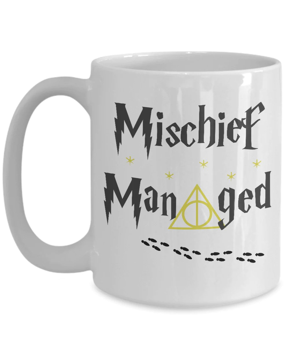 Fullsize Of Mischief Managed Mug