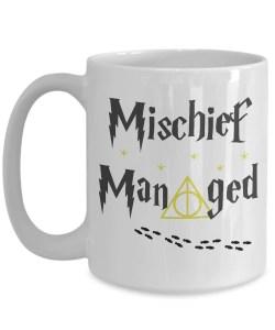 Small Of Mischief Managed Mug