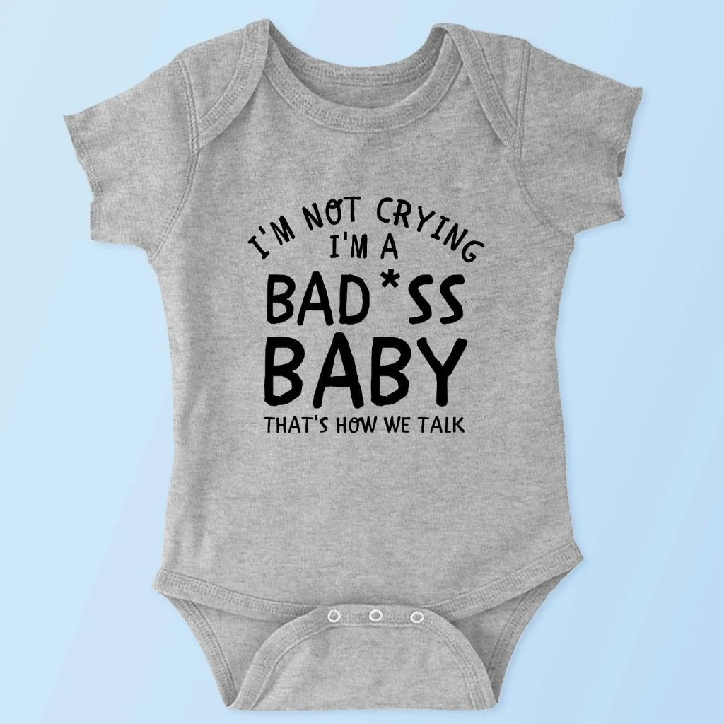 Bad Set For Baby Bad Ass Baby Baby Onesie Toddler Youth Tee