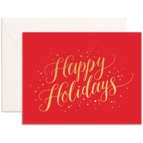 Medium Of Happy Holidays Cards