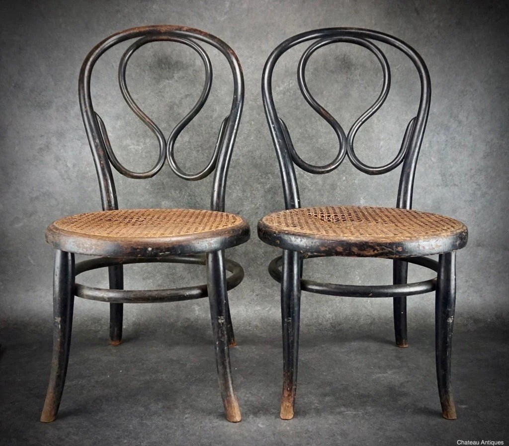 Thonet Jobs Thonet No 20 Nursing Chairs C1900 Authenticated By Thonet