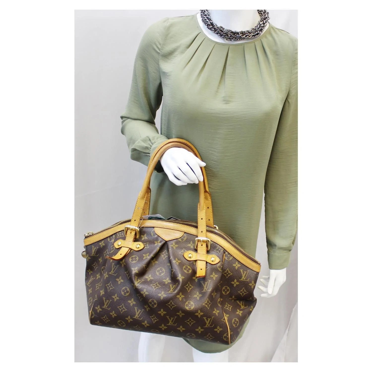 Tivoli Gm Louis Vuitton Tivoli Gm Monogram Canvas Brown Shoulder Bag Us