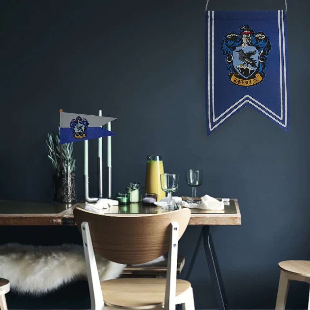 Decoration Chambre Usa Harry Potter Decoration Ravenclaw Banner Flag Set