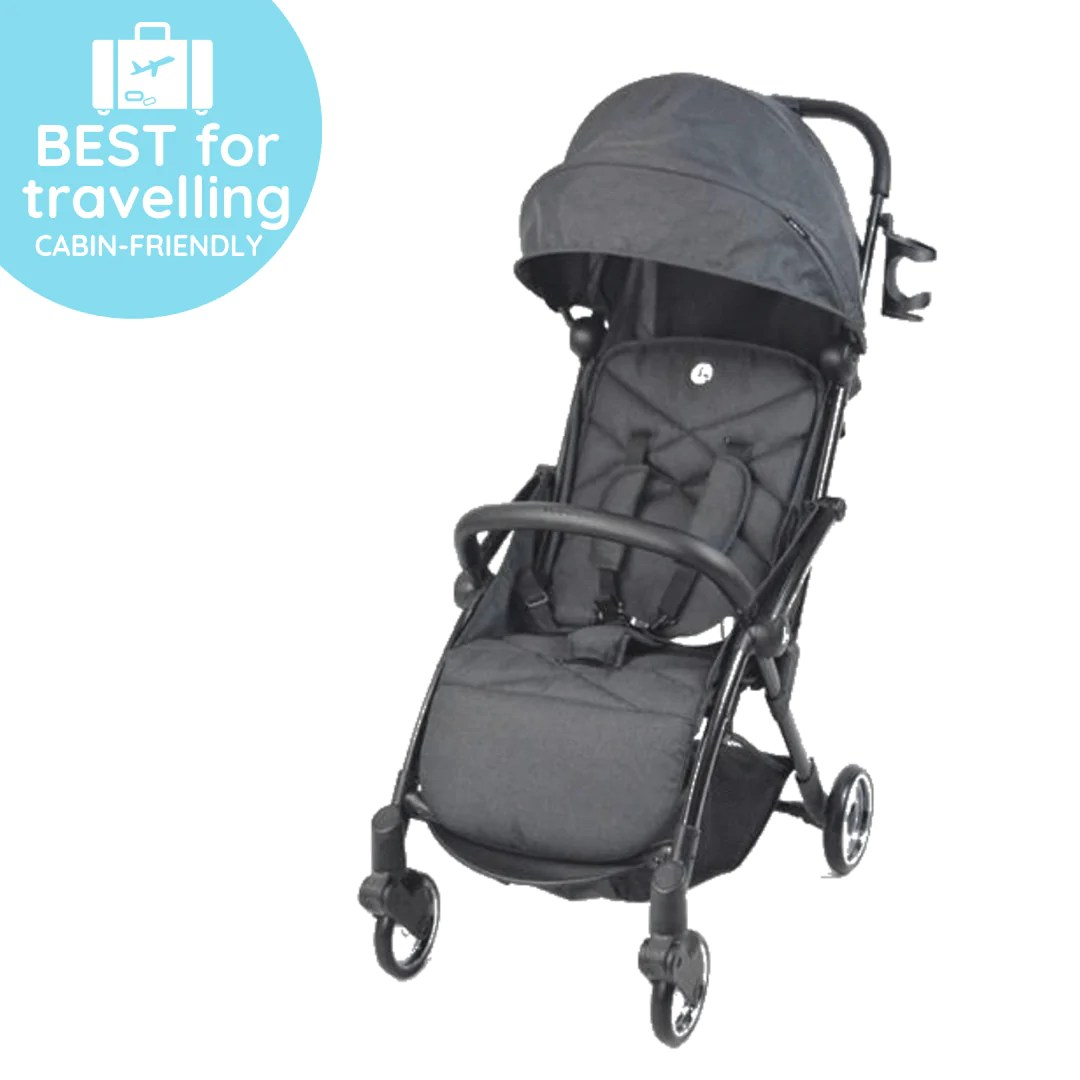 Lightweight Folding Pram Bespoke Collection Navuto Auto Folding Stroller Cabin Friendly