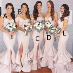 Small Crop Of Blush Pink Bridesmaid Dresses
