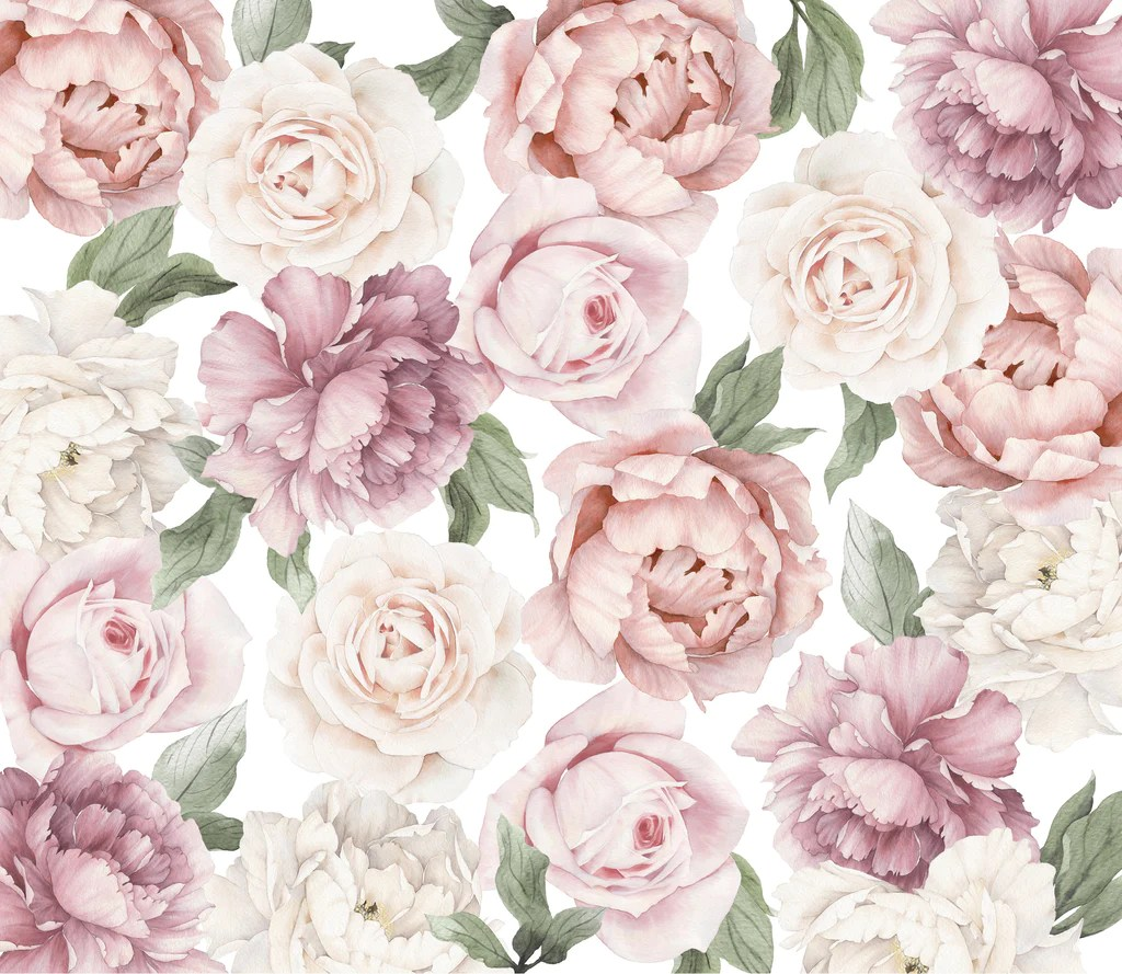 Cute Pink Wallpaper Quotes Peony And Rose Wallpaper Ginger Monkey