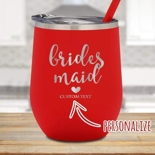Amusing Brides Maid Personalized Stemless Wine Glass Brides Maid Personalized Stemless Wine Glass Threads Personalized Stemless Wine Glasses 9 Oz Personalized Stemless Wine Glasses Baby Shower