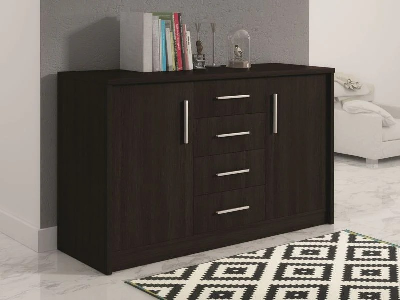 Classic Sofas For Sale Uk Sideboard Malta 4-wenge & Walnut-12 Months Free Credit