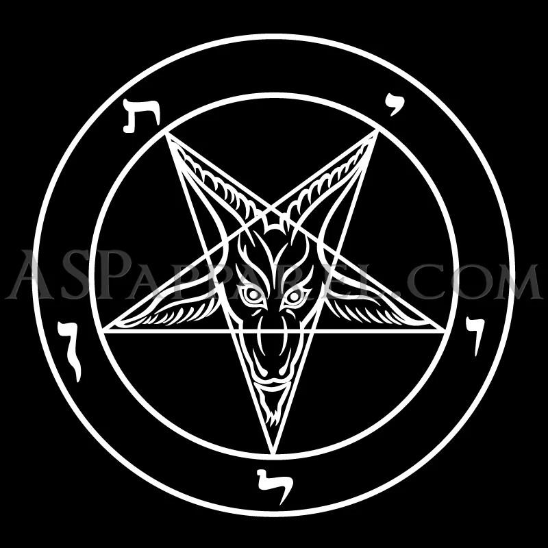 Cross Wallpaper Iphone 6 Sigil Of Baphomet Satin Tie Official Satanic Merch Asp